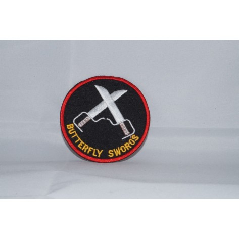 Butterfly Sword Martial Arts Patch