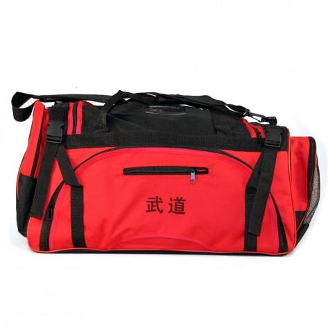 Red Martial Arts Sparring Gear Bag