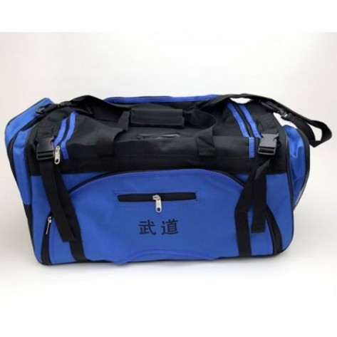 Blue Martial Arts Sparring Gear Bag
