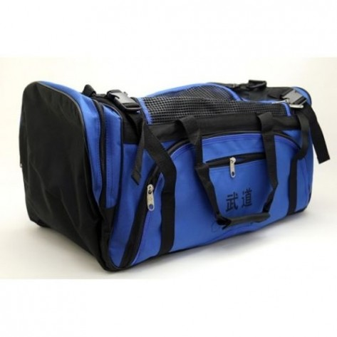 Blue Martial Arts Sparring Gear Bag