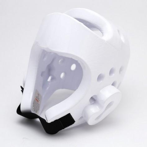 White Dipped Foam Martial Arts Head Gear