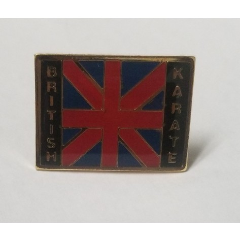 British Karate Pin