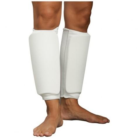 White Martial Arts Shin Protector