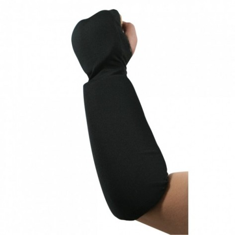 Black Martial Arts Forearm and Fist Protector