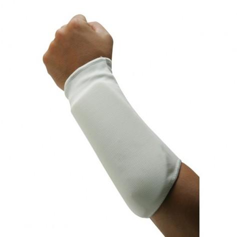 White Martial Arts Forearm Protector