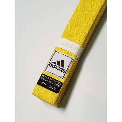 adidas Martial Arts Yellow Belt