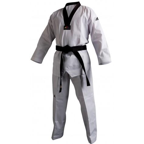 adidas Taekwondo ADICHAMP 2 Black V-Neck Uniform