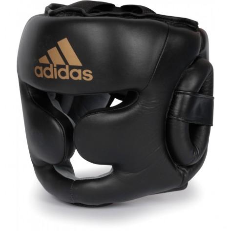 adidas Super Pro Leather Boxing headguard