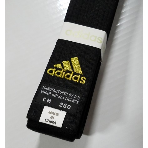 adidas Martial Arts Champion Black Belt