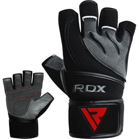 RDX L4 Deepoq Leather Gym Gloves