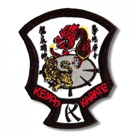 Kenpo Karate Martial Arts Patch