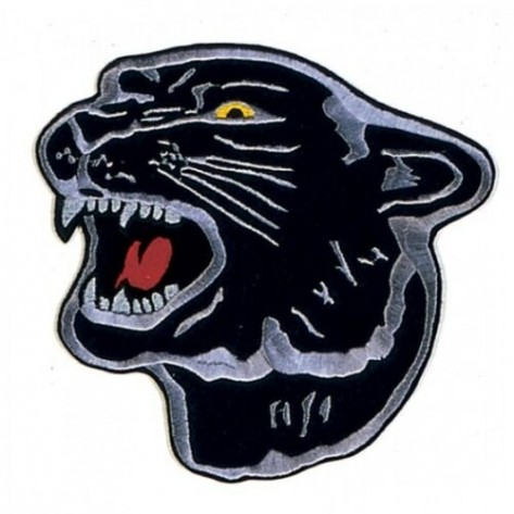 Panther Martial Arts Patch 8""
