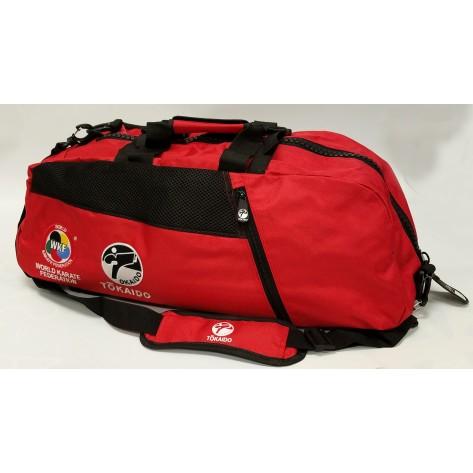 Tokaido Karate WKF Sports Gear Bag, Red