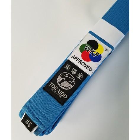 Tokaido WKF Sky Blue Belt
