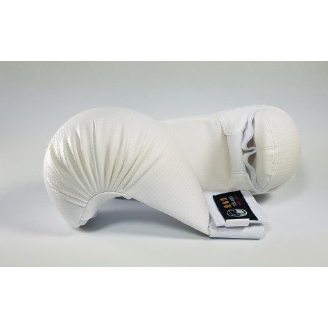 Tokaido Karate White Sparring Gloves