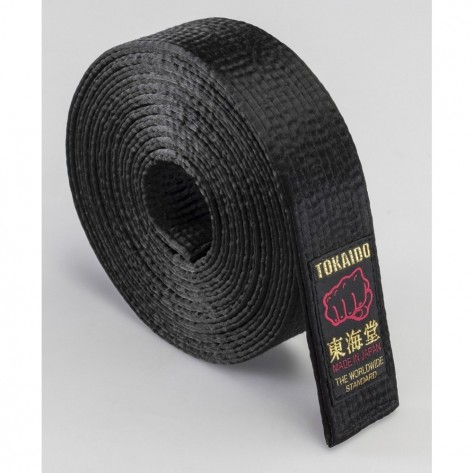 "Tokaido Karate, Japanese Satin Belt - BLS (EXPERT) - 1.5"""