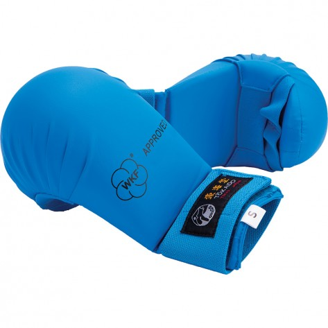Tokaido WKF Approved Karate Gloves, Blue