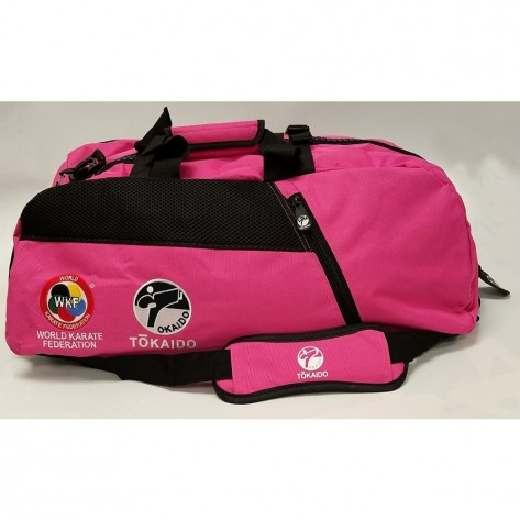 Tokaido Karate WKF Sports Gear Bag, Pink