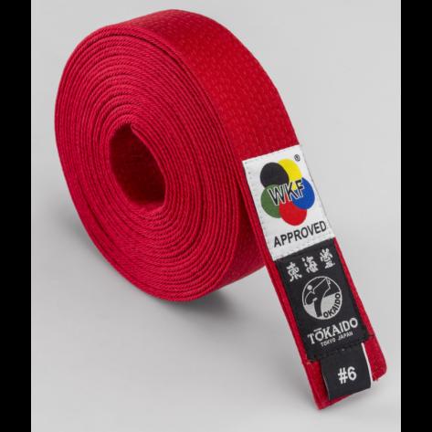 Tokaido WKF Elite Red Belt