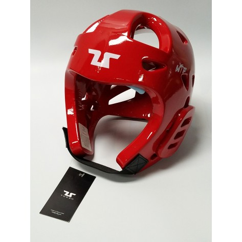 Tusah WTF Approved Red Head Guard