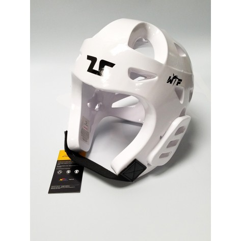 Tusah WTF Approved White Head Guard