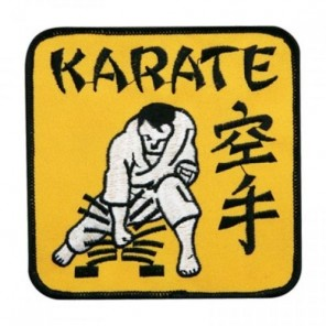 Karate Martial Arts Patch