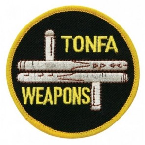 Tonfa Weapons Martial Arts Patch