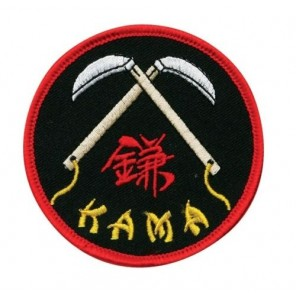 Double Kama Martial Arts Patch