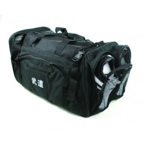 Black Martial Arts Sparring Gear Bag