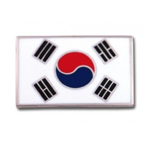 Korea Pin