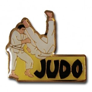 Judo Throw Pin