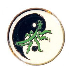 Ying Yang Mantis Pin
