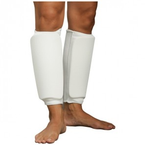 White Martial Arts Shin Protector