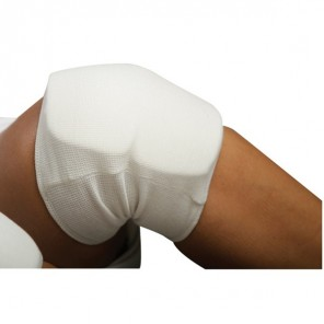 White Knee Martial Arts Protector