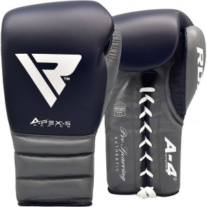 RDX A4 Laced Boxing Sparring Gloves