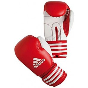 adidas Ultima Boxing Leather Red Gloves