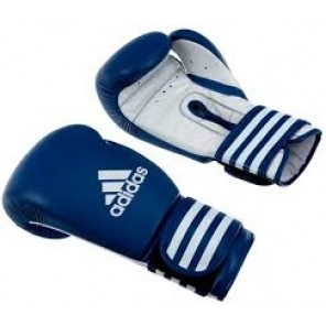 adidas Ultima Boxing Leather Blue Gloves