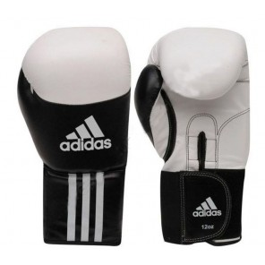 adidas Leather Dynamic Boxing Gloves
