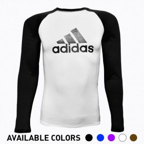 adidas IBJJF Ranked No-Gi Long Sleeve Rashguard