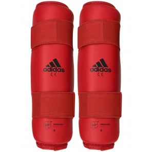 adidas WKF Approved Red Shin Protector