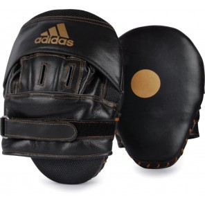 adidas Classic Curved Leather Focus Mitts