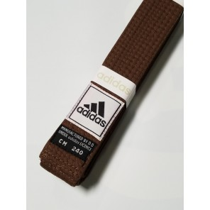 adidas Martial Arts Brown Belt