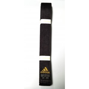 adidas Martial Arts Champion Black Satin Belt