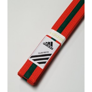 adidas Martial Arts Orange/Green Belt