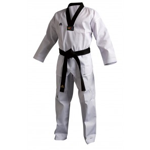 adidas Taekwondo ADICHAMP 3 Black V-Neck Uniform