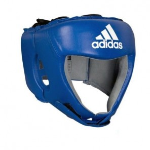 adidas AIBA 2012 Blue Leather Head Guard