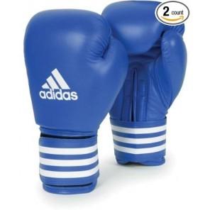 adidas AIBA 2012 Blue Leather Gloves