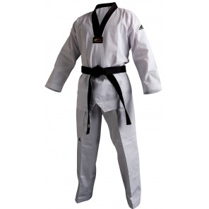 adidas Taekwondo ADICHAMP 2 Black V-Neck Uniform