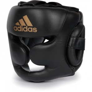 adidas Super Pro Leather Boxing headguard