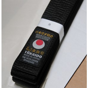 Tokaido Karate, Japanese Satin Belt - BLS (EXPERT) - 1.5""